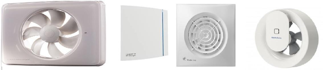 Toilet/Badkamer ventilatoren