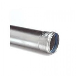 Dikw. Aluminium Ø 130 mm pijp L= 1000 mm