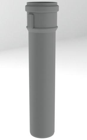 BH PP R.G. Grijs Ø 60 mm pijp L=1000 mm