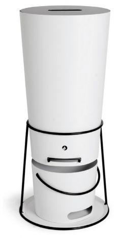 Pellet dispenser Wit 30 Kg