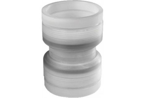 Kunststof Flex Ø 80 mm Rolux koppelstuk flex-flex