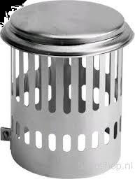 Aluminium Kraaienkap   Ø 150 mm