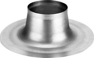 Plakplaat platdak voor ventilatiedoorvoer Ø 125 mm