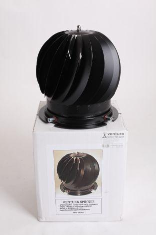 Turbine Junior Spinner RVS 80/180 Zwart