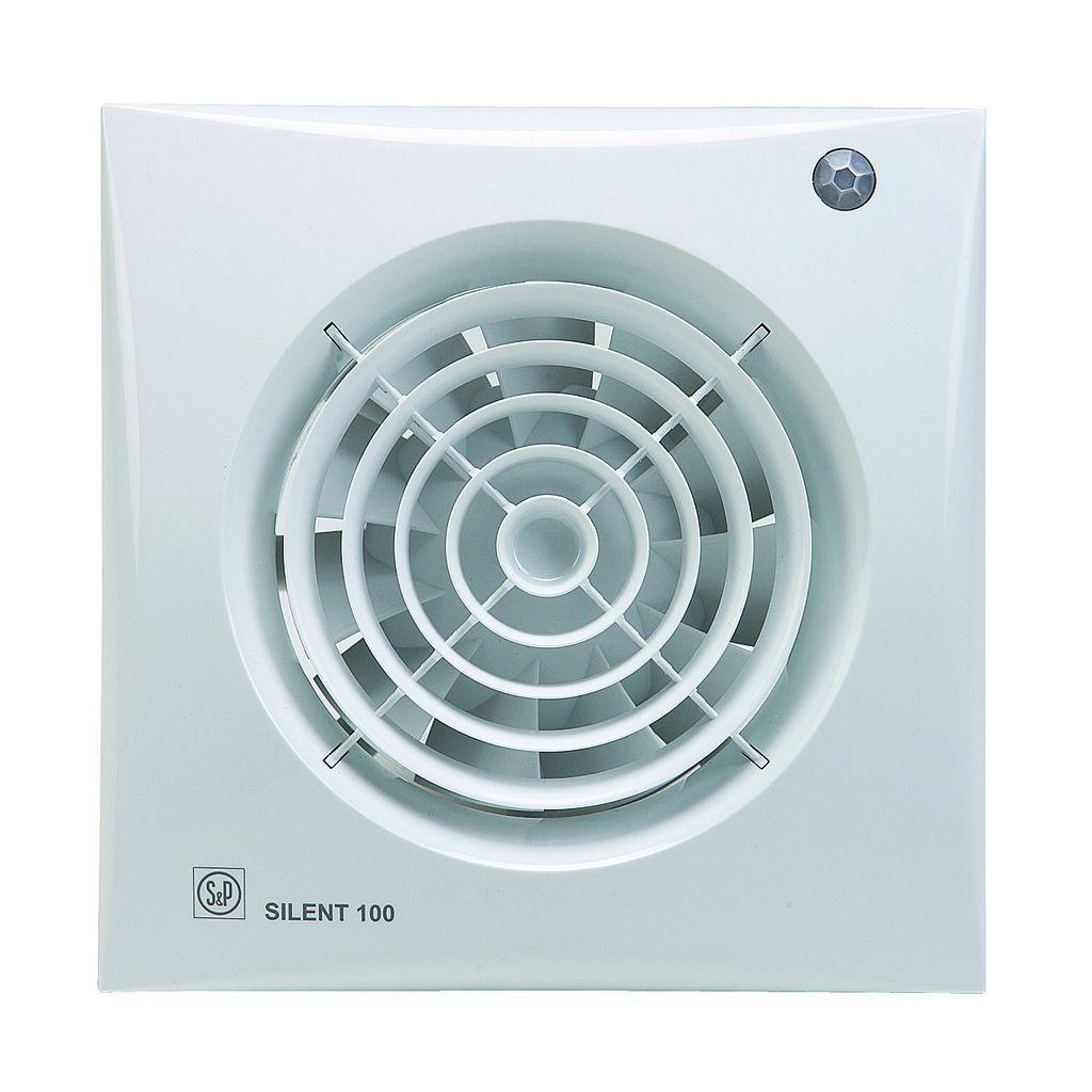 Toilet Badkamerventilator Silent 100 Cdz Bewegingssensor Bestel Online Bij De Kachelwinkel