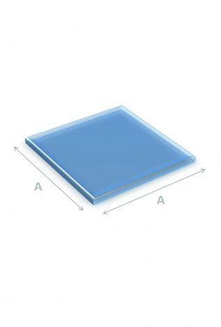 Vloerplaat Glas Vierkant 90 x 90 cm 6 mm dik