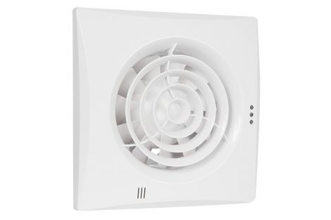 Badkamer/Toiletventilator Silencio 150 Standaard Front Wit