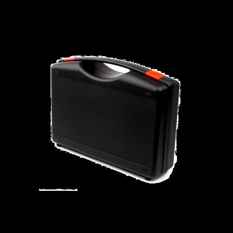Zwarte Koffer voor Brigon 3200 Drukverschilmeter