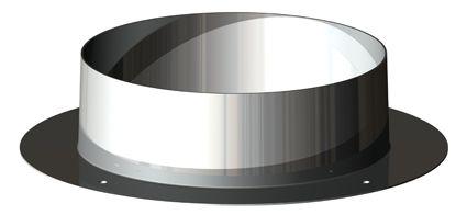 BH Miniflex plakplaat uitmondingsset