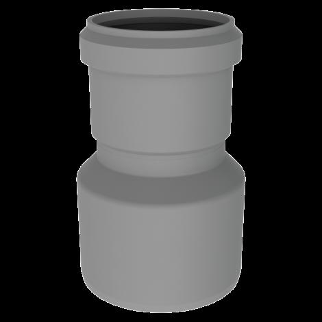 BH Miniflex verkleinend verloop Ø 80-60 mm