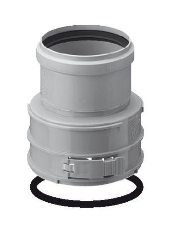 BH PP Flex Ø 80 mm koppelstuk F/M (Boven)