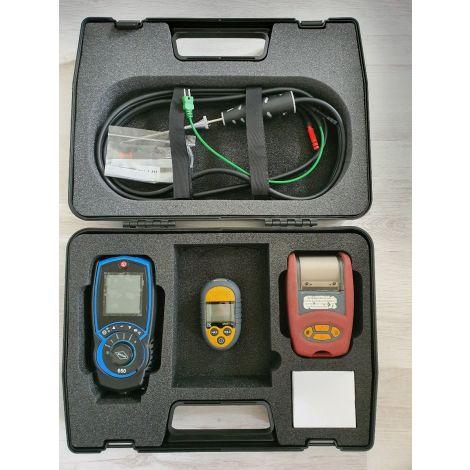 Brigon 650 Rookgasanalyser in koffer Ok - CV Set