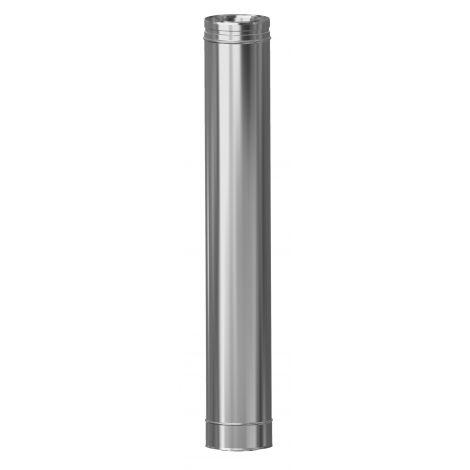 Concentrisch CFS RVS/RVS Ø 100/150 mm pijp L = 1000 mm