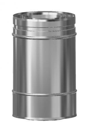 Concentrisch CFS RVS/RVS Ø 100/150 mm pijp L = 250 mm