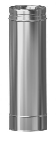 Concentrisch CFS RVS/RVS Ø 100/150 mm pijp L = 500 mm