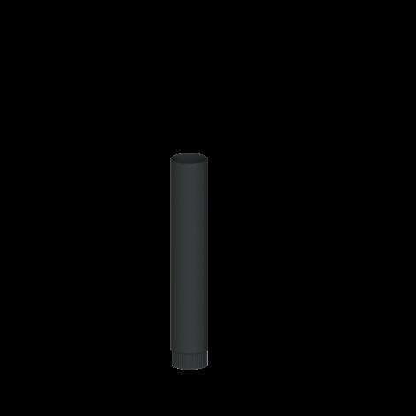 Blauw gegloeid Ø 98 mm Pijp L = 1000 mm