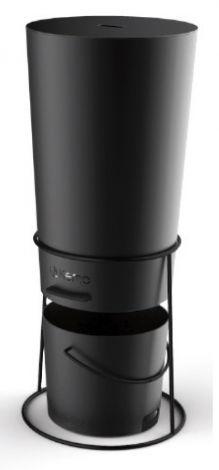 Pellet dispenser Zwart 30 Kg