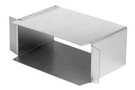 Instort 170 / 70 mm zijaansluiting 170 / 70 mm op 170 / 70 mm Gegalvaniseerd