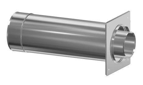 Concentrisch CFS RVS/RVS Ø 80/130 mm muurdoorvoer