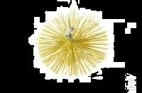 Schoorsteenveeg nylonborstel rond Ø 125 mm