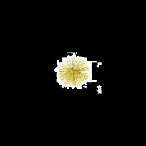 Schoorsteenveeg nylonborstel rond Ø 100 mm