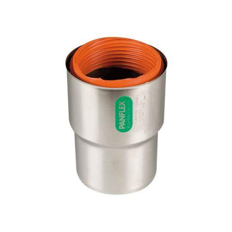 Flex RVS aansluitstuk met ring Ø 150 mm