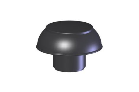 Coxvent 300 PP bovenkap ontluchting Ø 90 - 100 mm
