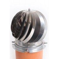 Turbine Spinner RVS 80/250 blank zonder veegopening