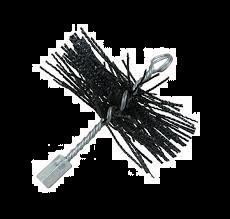 Staalborstel rond Ø 150 mm
