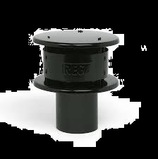 Aluminium tregakap zwart  Ø 180 mm