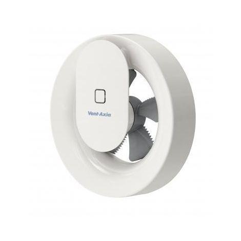 Badkamer ventilator Svara met timer, vocht-, temperatuur- en lichtsensor Ø100 - Ø 125 mm
