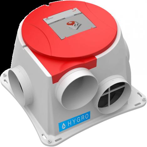 Zehnder ComFofan S RP Hygro vochtsensor met RF ontvanger (Perilex)