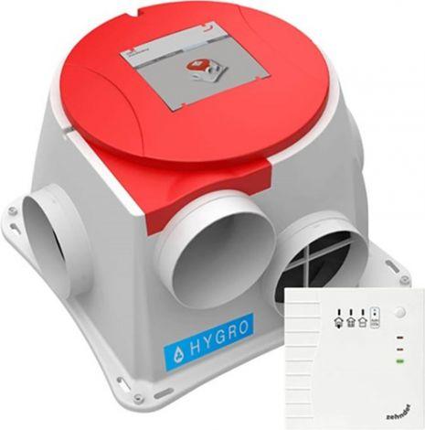 Zehnder ComFofan S CO2 RF Hygro vochtsensor incl. hoofdbediening CO2 RF (randaardestekker)